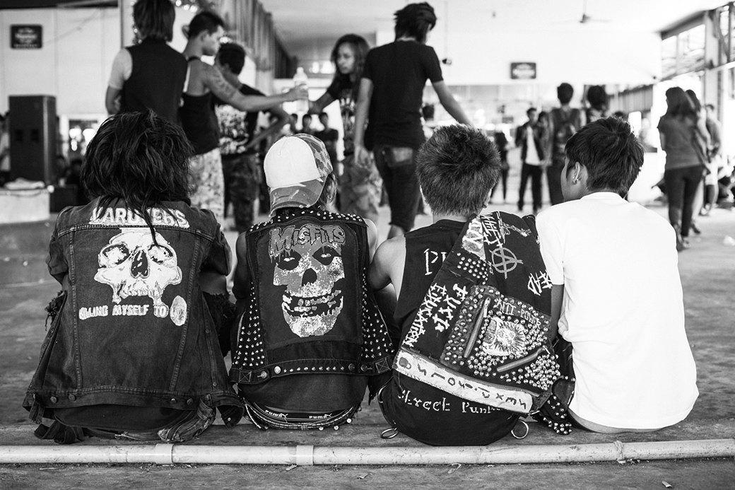 Панк в условиях военной диктатуры: Фотопроект Грега Холланда. Изображение № 1.