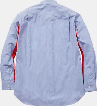 Марки Supreme и Comme des Garсons Shirt выпустили лукбук совместной коллекции одежды. Изображение № 16.