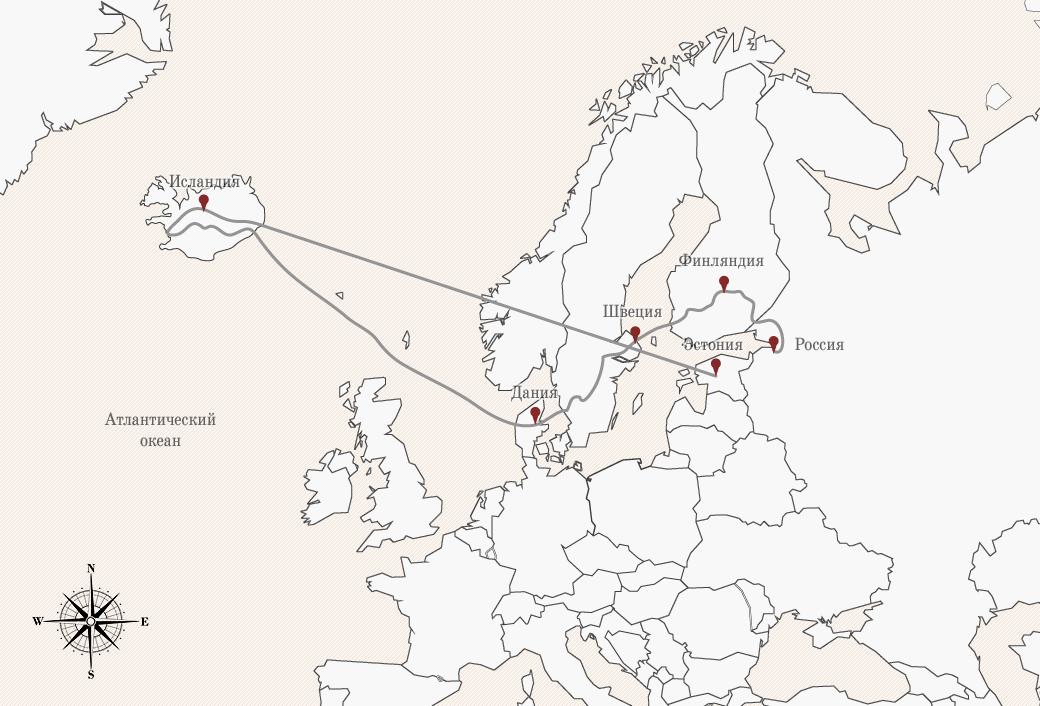 Как мы проехали всю Европу на мотоциклах, чтобы посёрфить у берегов Исландии. Изображение № 2.