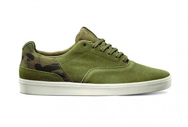 Марка Vans выпустила коллекцию камуфляжной обуви. Изображение № 1.