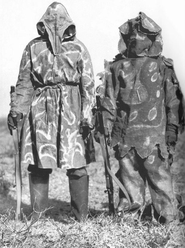 Эволюция маскировочного костюма и история снайперов в XX веке. Изображение №4.