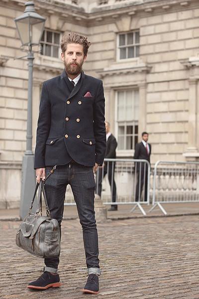 Уличный стиль на неделе моды в Лондоне. Изображение № 29.