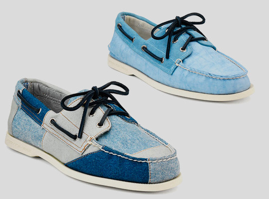 Марки Band of Outsiders и Sperry Top-Sider выпустили совместную коллекцию обуви. Изображение № 2.