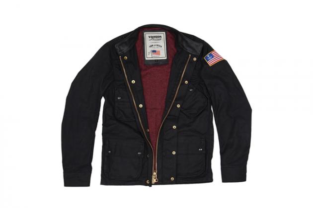 Марка Vanson представила куртку в коллаборации с Iron & Resin. Изображение № 7.