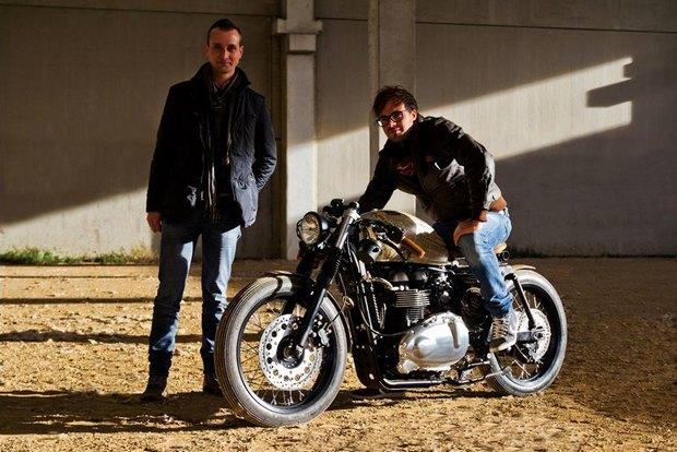 Итальянская мастерская Centro Modo Lodi представила «королевский» кастом модели Triumph Thruxton. Изображение № 22.
