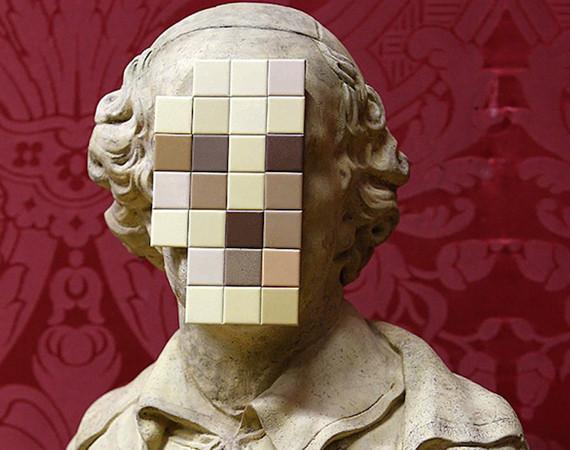 Скульптура Бэнкси впервые выставлена в музее. Изображение № 1.