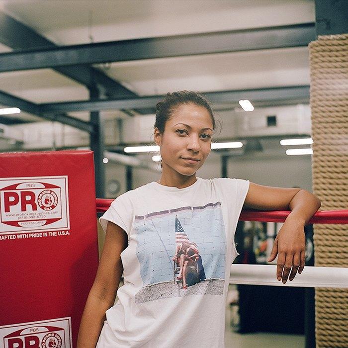 «Мой муж тоже занимается боксом, но я его перебиваю по очкам»: Девушки боксеры о своём увлечении. Изображение № 5.