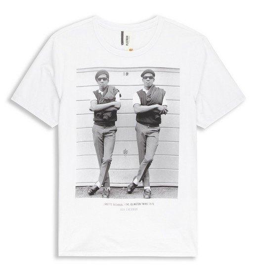 Марка Ben Sherman и музыкальный фотограф Джанет Бекман выпустили совместную коллекцию футболок. Изображение № 1.