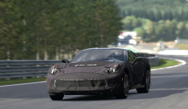Chevrolet предлагает испытать новый Corvette 7 на PlayStation. Изображение № 6.