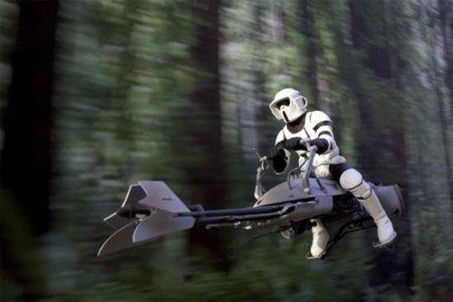 Американцы создали летающий мотоцикл в стиле «Звездных войн». Изображение № 3.