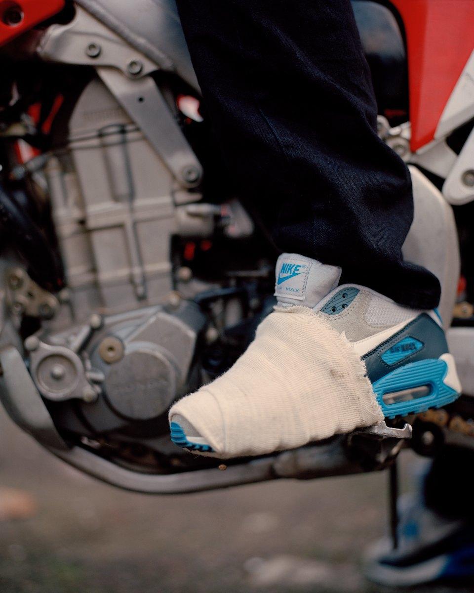 Фотопроект: Лондонские гопники и их мотоциклы. Изображение № 19.