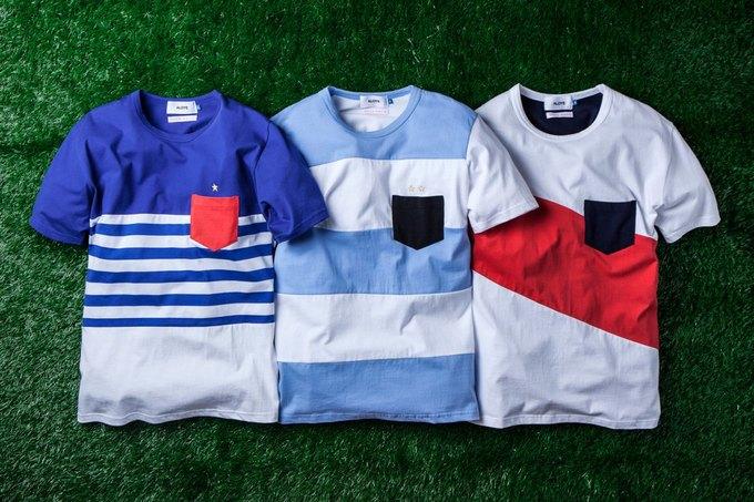 Марка Aloye вместе с Wong Wong представила коллекцию футболок к чемпионату мира. Изображение № 2.