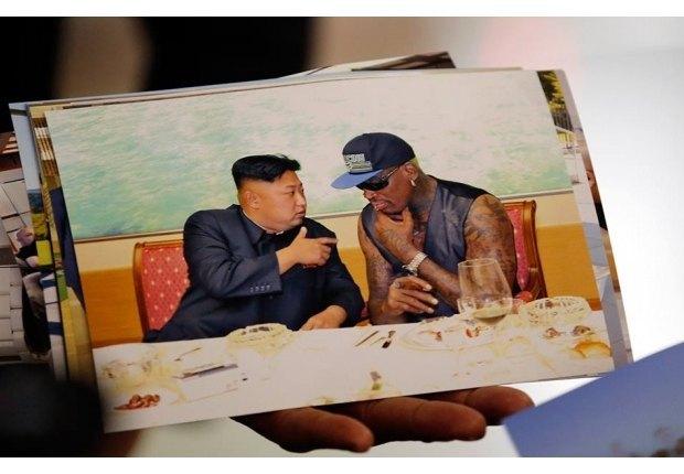 Деннис Родман поделился фотографиями из КНДР. Изображение № 11.