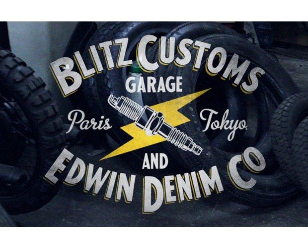 Мастерская Blitz Motorcycles и марка Edwin представили совместную коллекцию одежды. Изображение № 8.