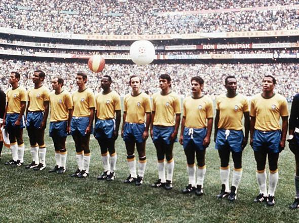 Сборная Бразилии по футболу, 1970. Изображение №6.