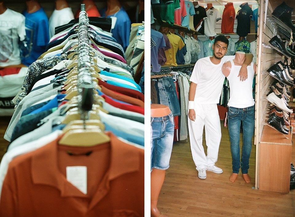 Уайт пауэр: Восточный базар и белая одежда. Изображение № 3.