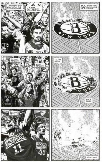 Marvel представили первого в истории супергероя-баскетболиста. Изображение № 6.