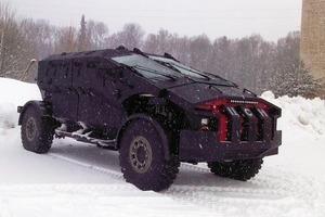 В будущем году в российской армии появятся две новые бронемашины: «Волк» и «Медведь». Изображение № 18.