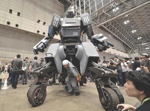 В США разработали четвероногого робота-мула для морской пехоты. Изображение № 1.
