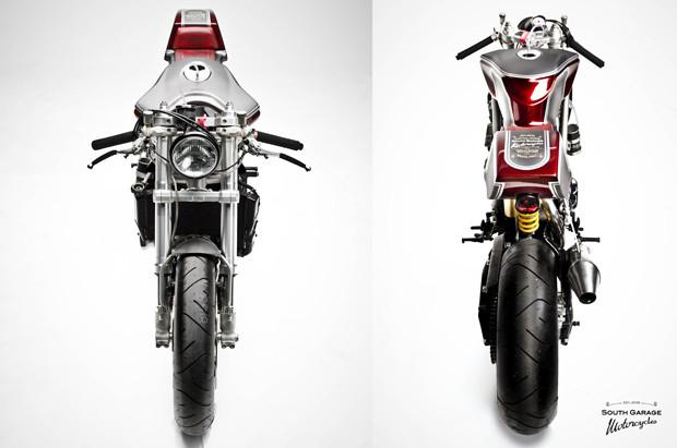 Каферейсер Ducati 749 мастерской South Garage. Изображение № 4.