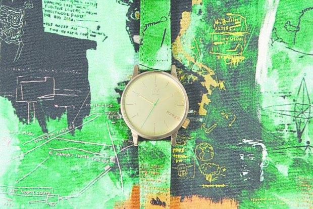 Марка Komono выпустила часы, оформленные работами Жан-Мишеля Баския. Изображение № 5.