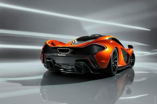 McLaren выпускает новый суперкар P1. Изображение № 2.