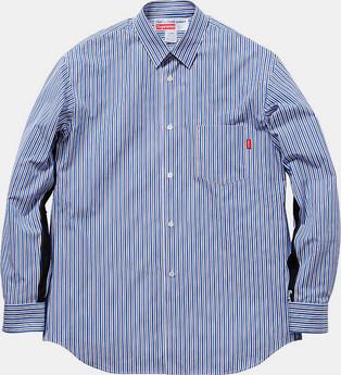 Марки Supreme и Comme des Garсons Shirt выпустили лукбук совместной коллекции одежды. Изображение № 13.