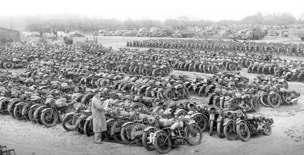 Железный конь: Как мотоциклы использовали в военных действиях. Изображение № 17.
