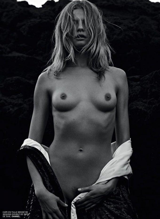 Марк Сегал сфотографировал польскую модель Магдалену Фраковяк для нового номера журнала Lui. Изображение № 6.