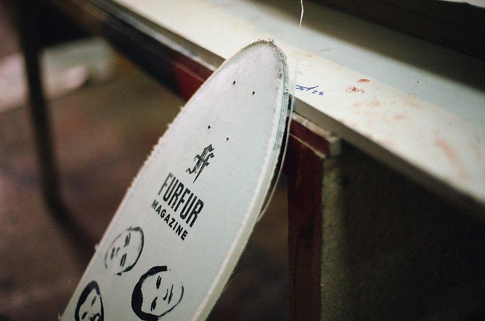 FURFUR х Pepper Customs: Как выглядит процесс создания лонгборда. Изображение № 24.