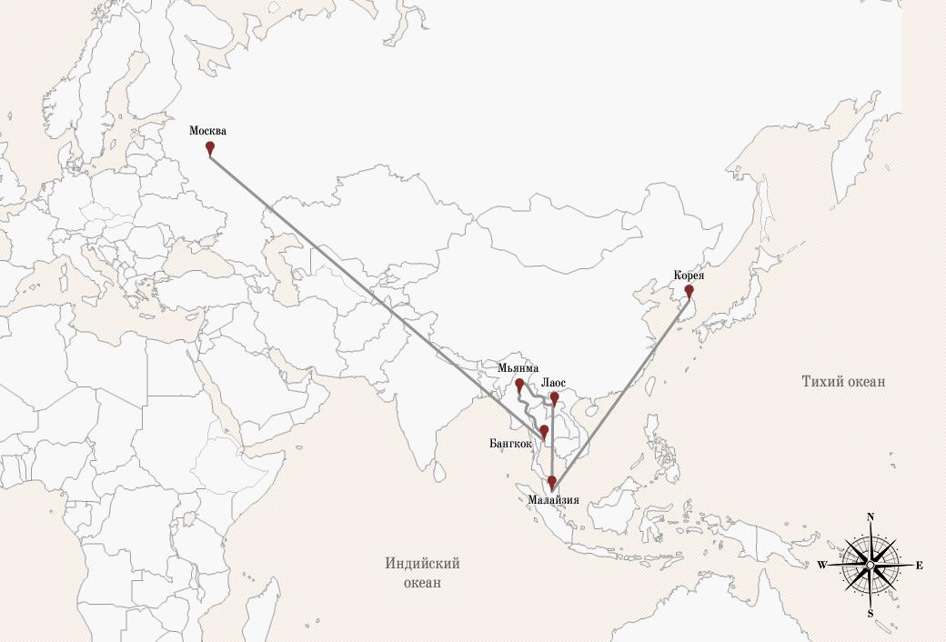 Автостопом по Азии: Как я встретил буддийский Новый год. Изображение № 2.