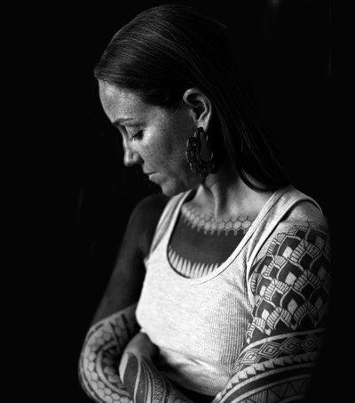 Черная работа: Путеводитель по блэкворку — уникальному стилю татуировок. Изображение № 4.