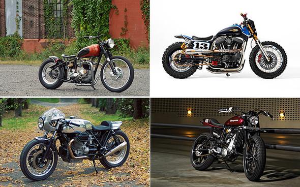 Календарь с кастомизированными мотоциклами сайта Bike EXIF. Изображение №2.