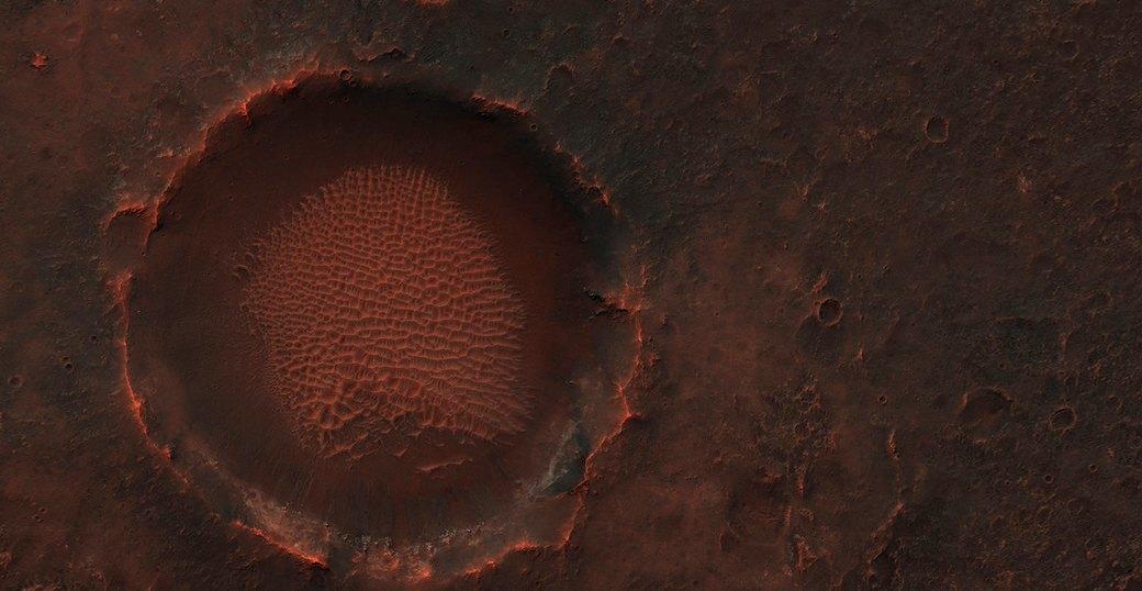 Новые фотографии поверхности Марса, опубликованные агентством NASA. Изображение № 4.