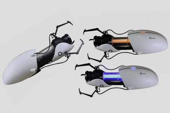Компания Neca выпустила точную копию пушки из игры Portal. Изображение № 1.