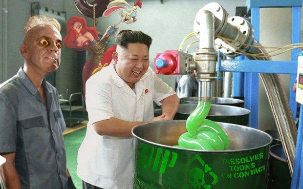 Поход Ким Чен Ына на завод смазок стал новым интернет-мемом . Изображение № 10.