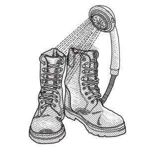 Как правильно растягивать новую обувь . Изображение № 1.