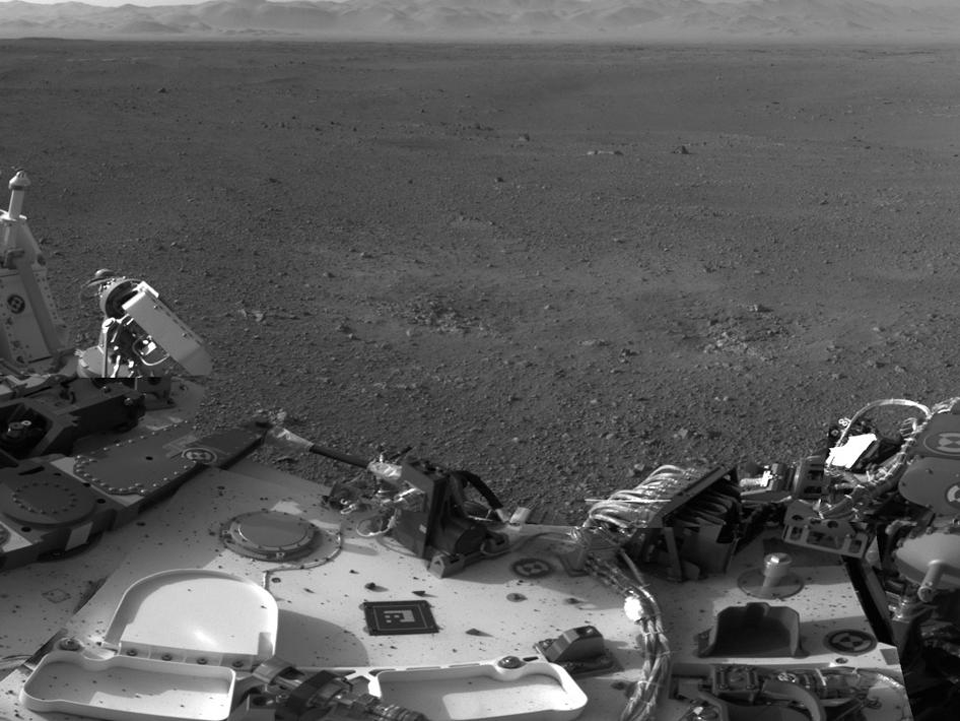 10 фотографий с марсохода Curiosity и поверхности Красной планеты. Изображение №7.