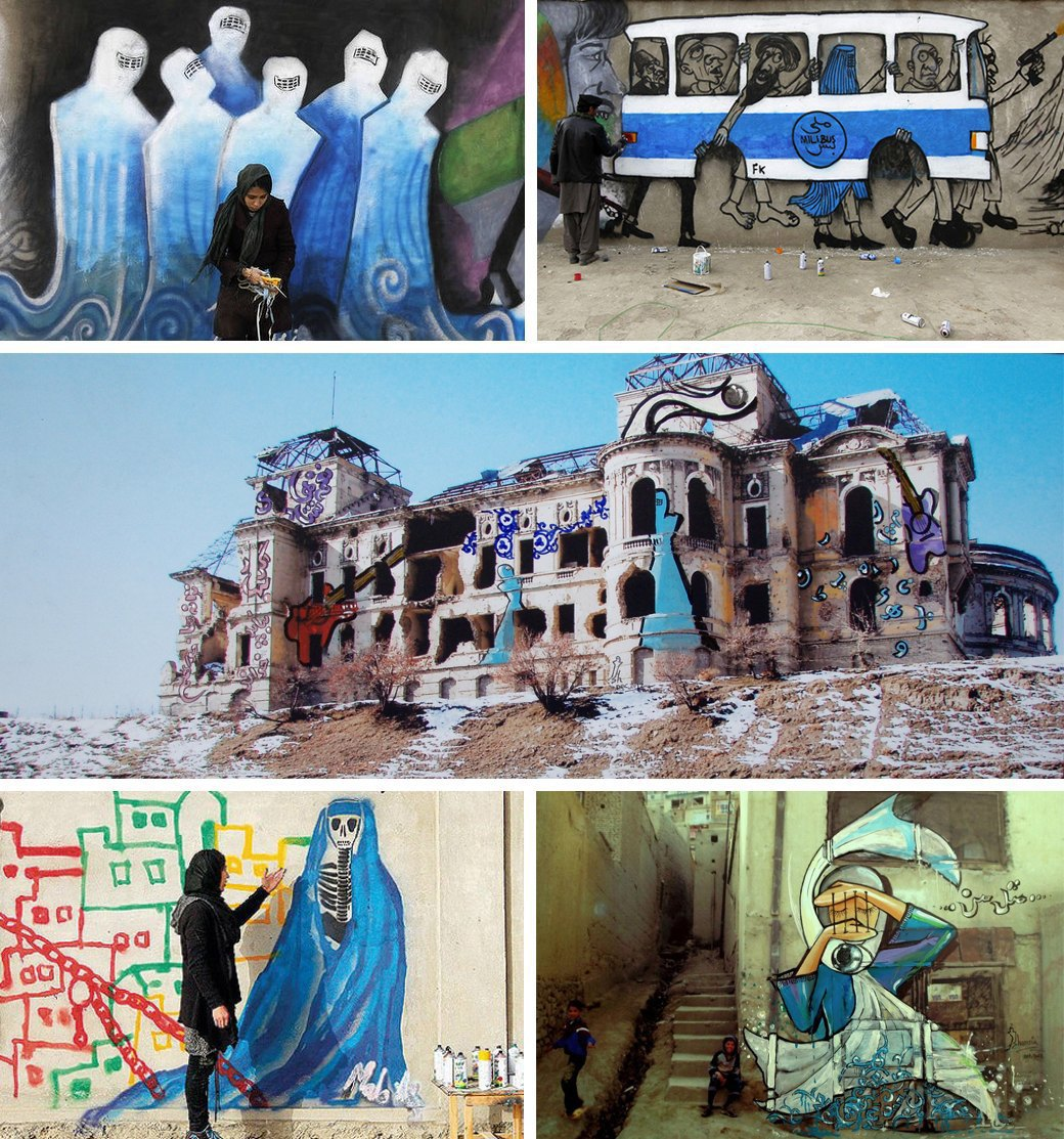 5 исламских уличных художников, выступающих за права женщин. Изображение № 6.