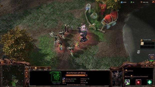 Геймер создал игру Warcraft IV на движке StarCraft II . Изображение № 5.