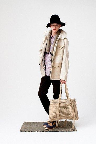 Японская марка Visvim опубликовала лукбук весенней коллекции одежды. Изображение № 4.
