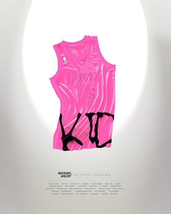 Канадский дизайнер представил, как бы выглядела форма NBA в исполнении культовых брендов. Изображение № 15.