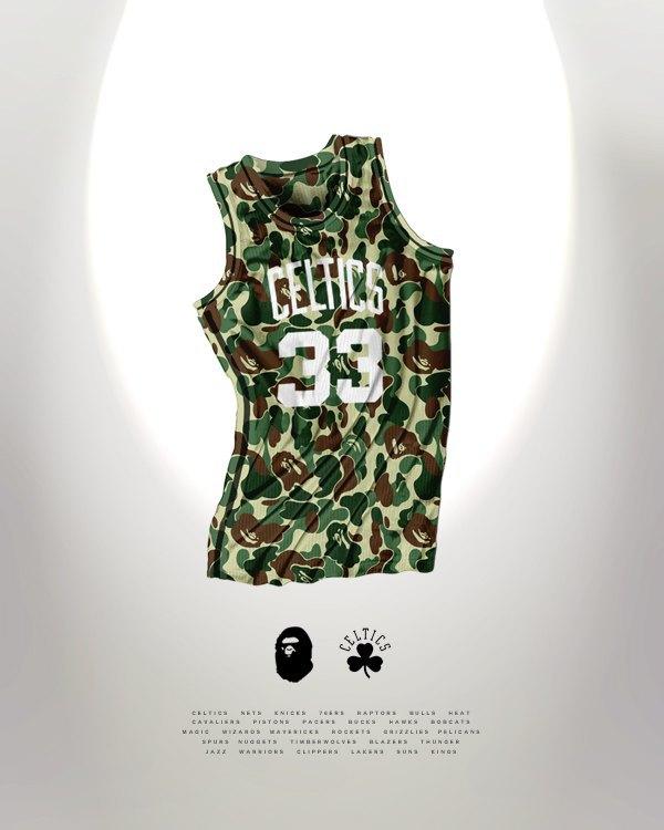 Канадский дизайнер представил, как бы выглядела форма NBA в исполнении культовых брендов. Изображение № 3.