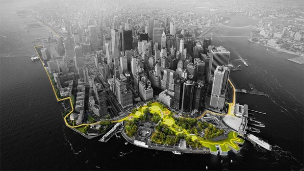 Нью-Йорк окружат огромной дамбой. Изображение № 1.