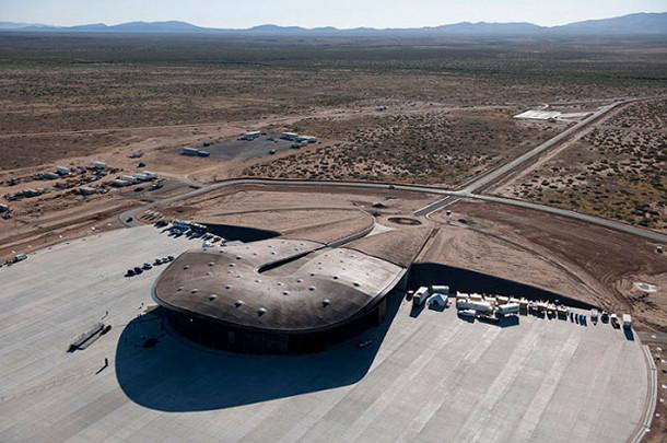В Нью-Мексико построен первый в мире частный космопорт. Изображение № 1.