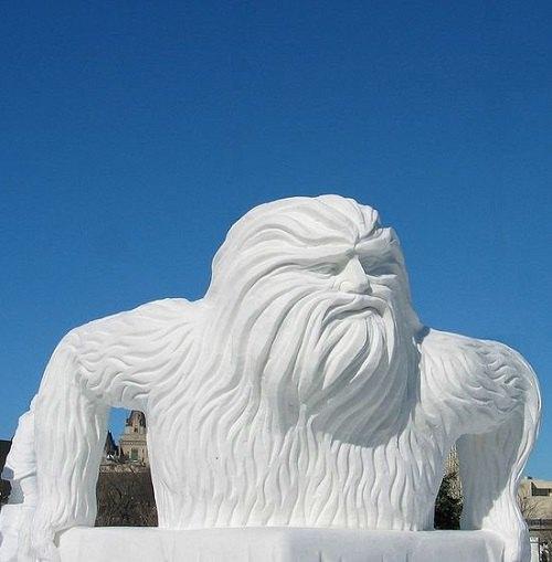 Что ты лепишь: Альтернативные снеговики со всего мира. Изображение №16.