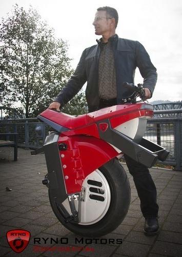Американец разработал непадающий моноцикл. Изображение № 3.