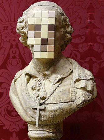 Скульптура Бэнкси впервые выставлена в музее. Изображение № 2.