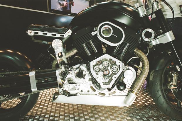 Лучшие кастомные мотоциклы выставки «Мотопарк 2012». Изображение №22.