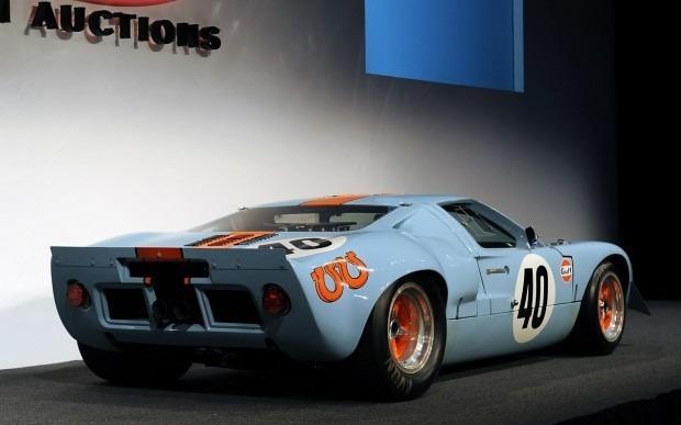 Спорткар Ford GT40 стал самым дорогим американским автомобилем. Изображение № 5.